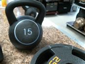 JILLIAN MICHAELS Exercise Equipment 15LB KETTLEBALL